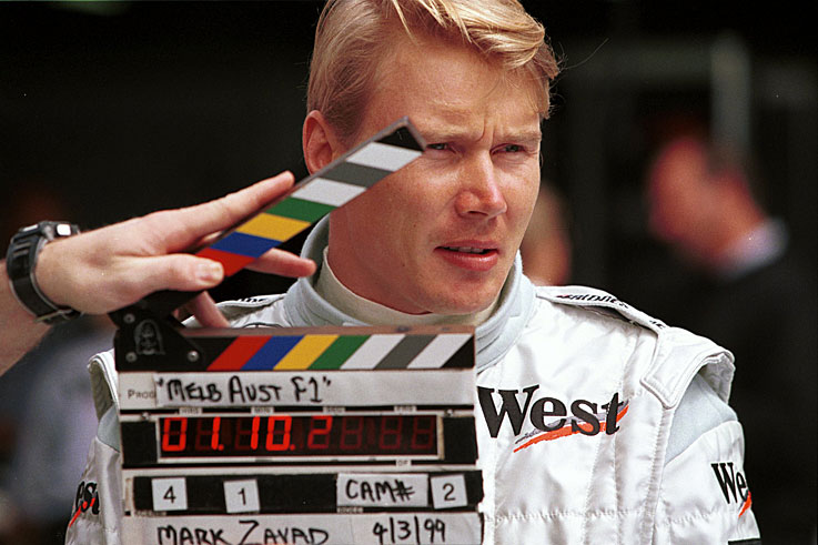 Mika Hakkinen becomes only the seventh man to win back-to-back F1 world championships