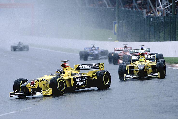 Damon Hill claims his final grand prix win at Spa