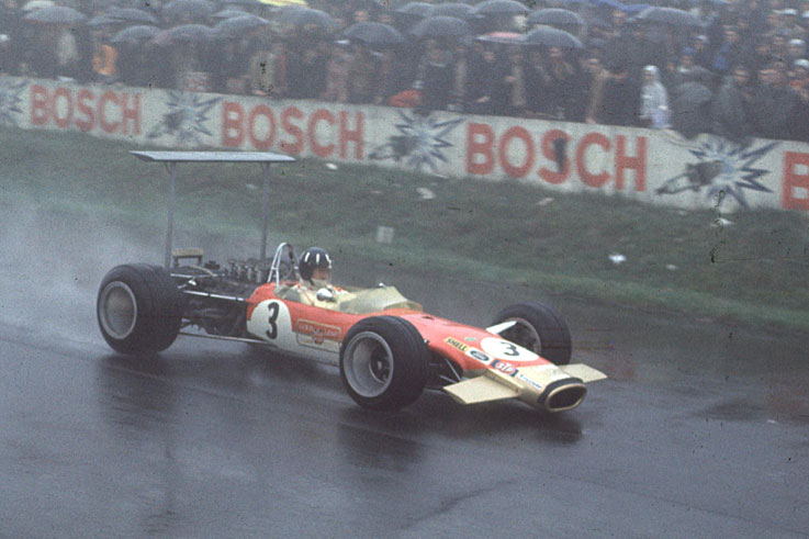 Graham Hill wins his second world title