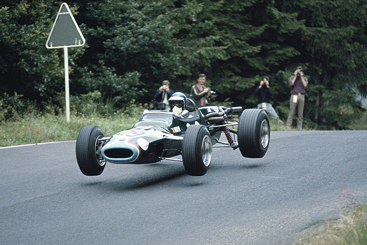 Jacky Ickx wins the first European Formula 2 crown