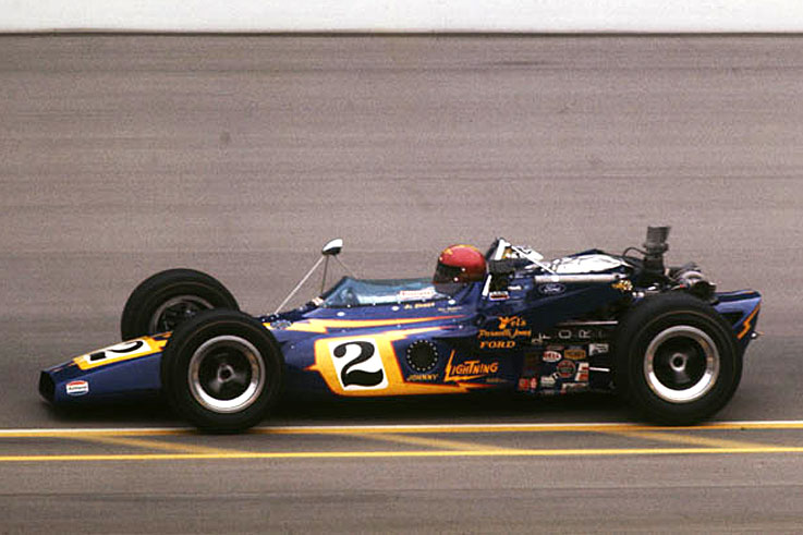 Al Unser Sr claims his maiden Indy 500 win and IndyCar title