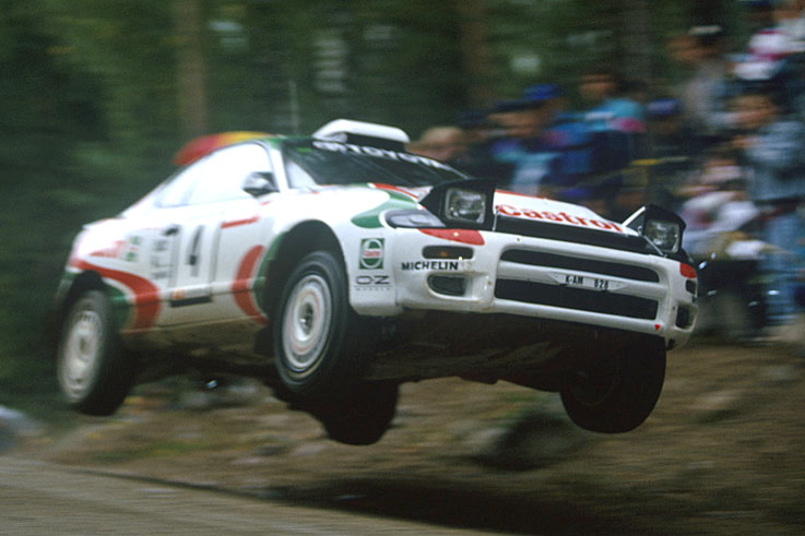 Juha Kankkunen becomes the first driver to win four World Rally titles