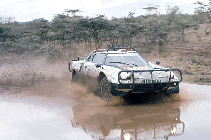 Lancia won its third consecutive World Rally title