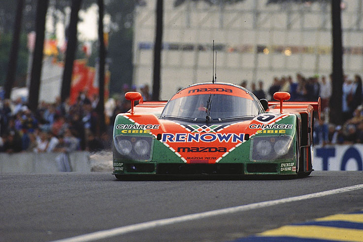 Mazda claims the only Le Mans 24 Hours victory for a Japanese car