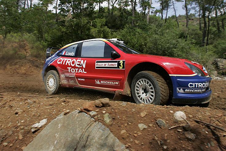 Sebastien Loeb wins his and Citroen's first World Rally championship