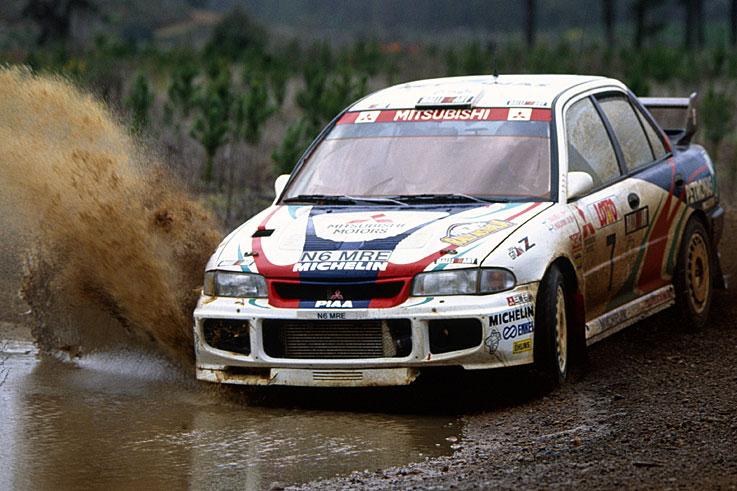 Rally title for Mitsubishi