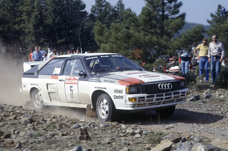 Hannu Mikkola wins his first and only World Rally Championship