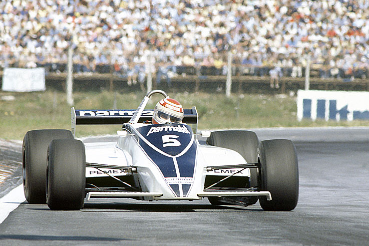 Nelson Piquet wins the world championship with the top five drivers covered by just seven points