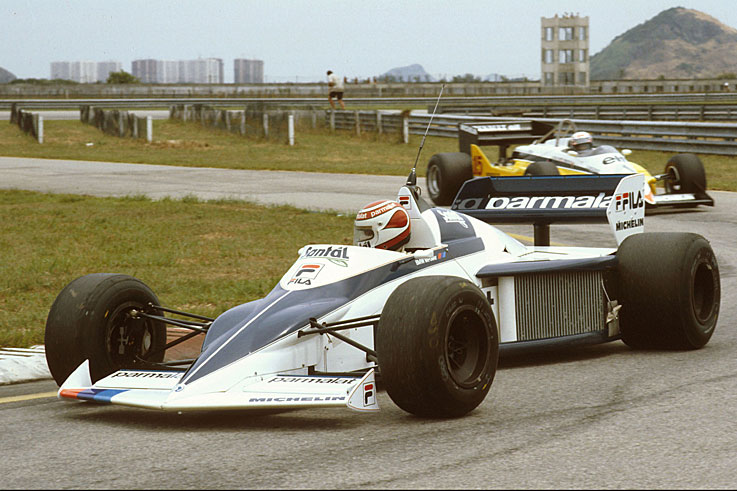 Nelson Piquet beats Alain Prost by two points to win his second world championship in three years