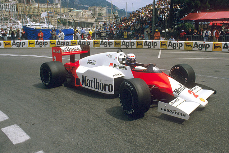 Alain Prost finally wins his first world championship
