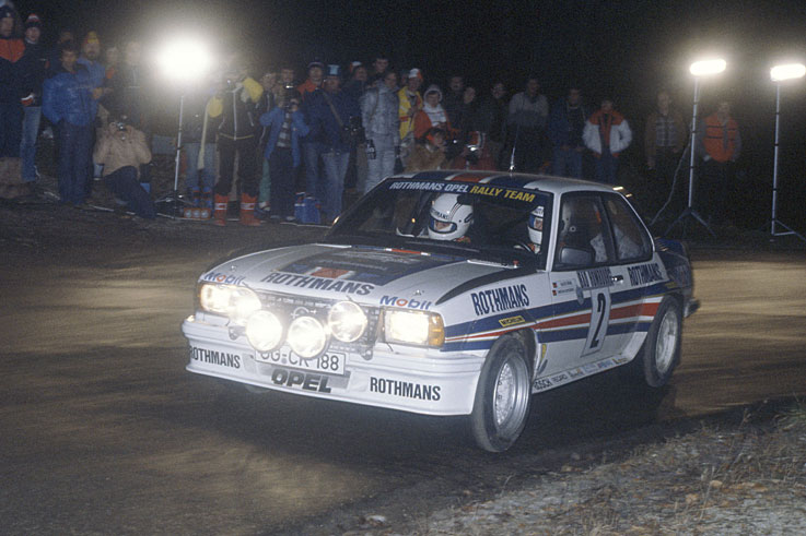 Walter Rohrl wins his second World Rally title and the first for Opel