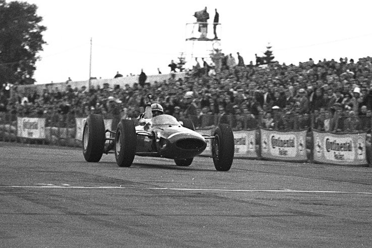 John Surtees becomes the only man ever to win the motorcycle and Formula 1 world championships