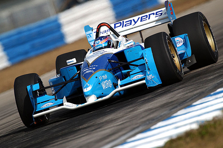 Paul Tracy wins the Champ Car title, 12 years after his series debut