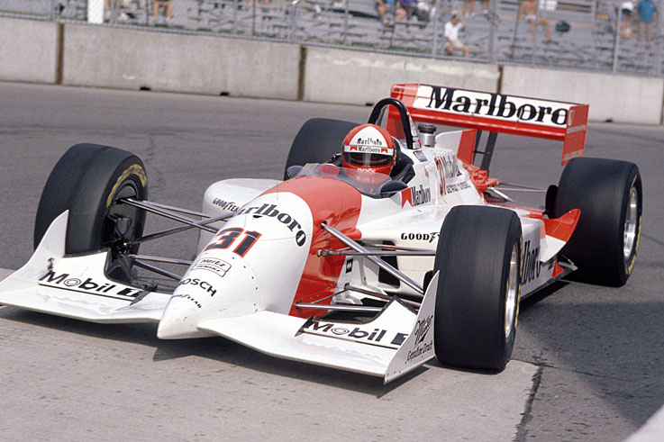 Al Unser Jr wins his second IndyCar title as Penske dominates