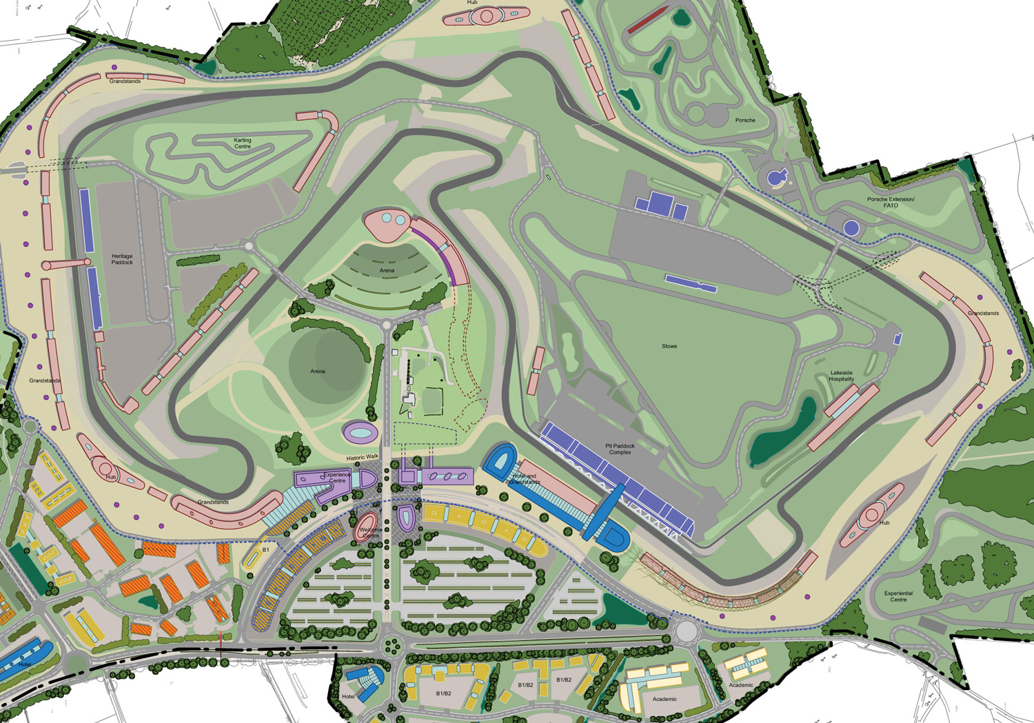 Silverstone Circuit Map >> Silverstone plans another major facilities upgrade - F1 - Autosport