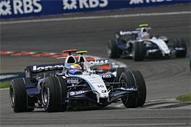 Nico Rosberg at Indianapolis