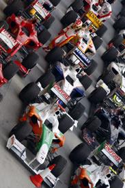 The 2009 F1 field