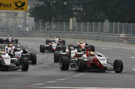 Jules Bianchi leads the Norisring F3 race