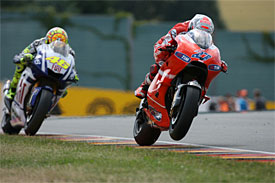 Rossi will be in red in 2011