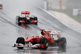 Felipe Massa during the Korean GP