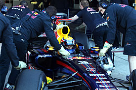 Mark Webber has been plagued by KERS issues