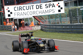 Senna enjoyed himself at Spa