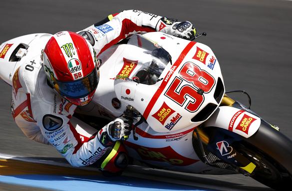 Marco Simoncelli 2011 French Grand Prix Gresini Honda