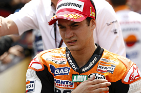 Dani Pedrosa Honda 2011 French Grand Prix