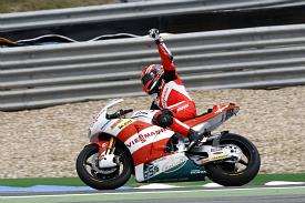 Stefan Bradl Spanish Grand Prix Moto2 2011