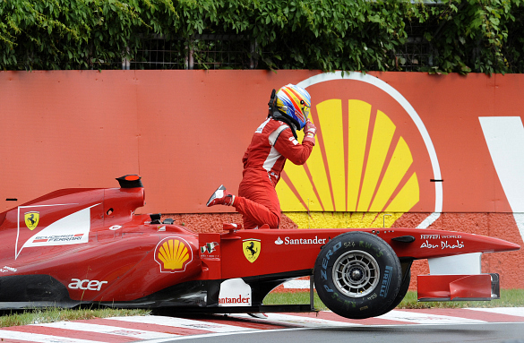 Fernando Alonso Ferrari 2011 Canadian Grand Prix