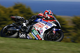 Casey Stoner was fast but wild in 2006