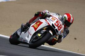 Marco Simoncelli Gresini Honda 2011 US Grand Prix