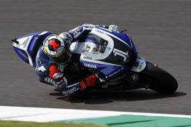 Jorge Lorenzo British Grand Prix Yamaha 2011
