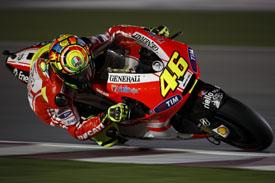 Valentino Rossi Ducati Qatar Grand Prix 2011