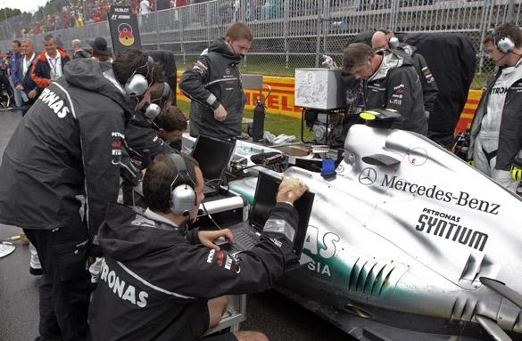Nico Rosberg mercedes 2011