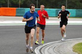 Ciaron Pilbeam track run