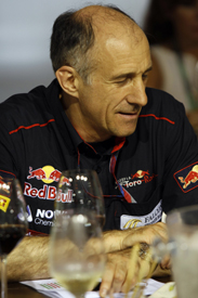Franz Tost fell foul of Singapore's unusual curfew times