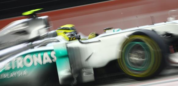 Nico Rosberg Mercedes 2011 Singapore Grand Prix