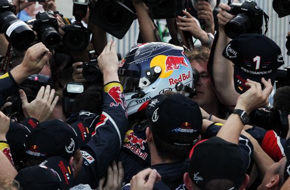 Sebastian Vettel Red Bull 2011 Japanese Grand Prix