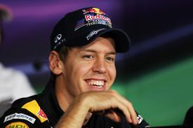 Sebastian Vettel Red Bull 2011 Korean Grand Prix
