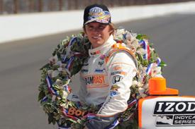 Dan Wheldon Bryan Herta Autosport 2011 Indianapolis 500