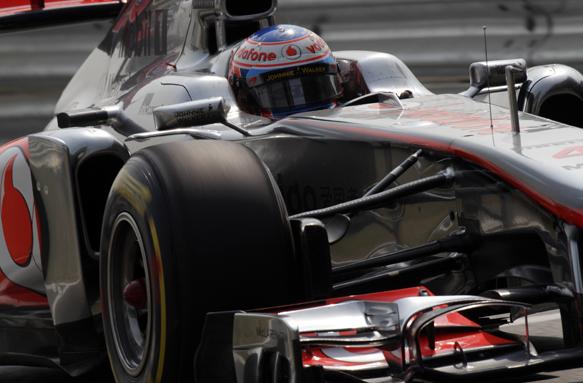 Jenson Button McLaren 2011 Grand Prix