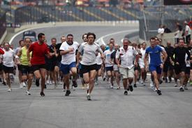Brazilian Grand prix track run