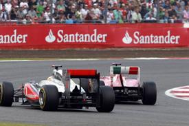 Massa and Hamilton wheel-banged their way to the flag at Silverstone