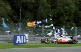 This Spa crash was one of the lowest points of Hamilton's season
