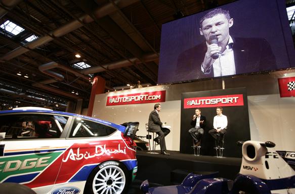AUtosport stage autosport international tom kristensen 2011