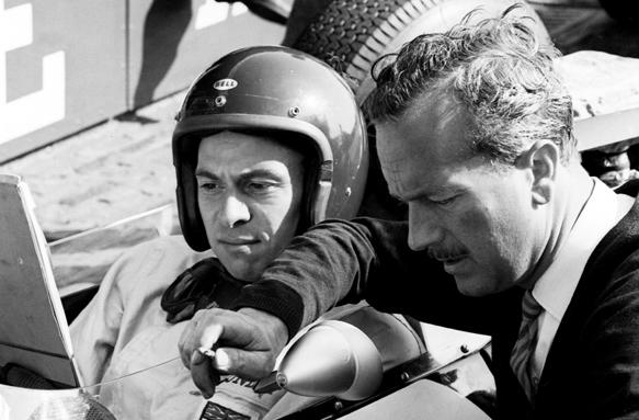 Jim Clark Colin Chapman 1963 grand prix