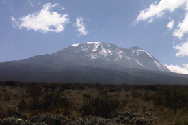 Night-time temperatures drop the higher you climb in Kilimanjaro – with summit temperatures ranging from -18 to -26 degrees C