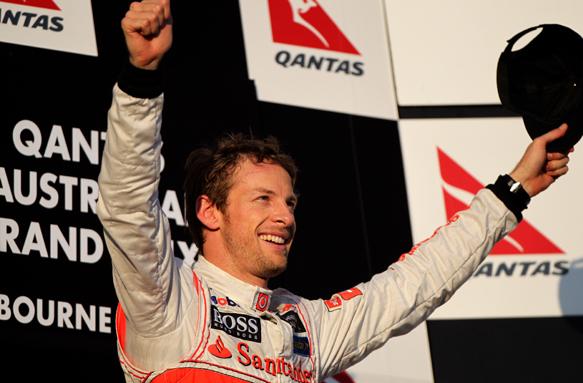 Jenson Button McLaren 2012 Australian Grand Prix