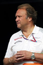Bob Fernley made a big call for Force India